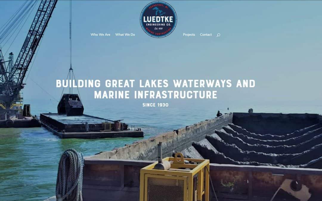 homepage of Luedtke Engineering Company